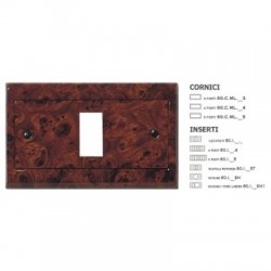 CORNICE METAL.RADICA S/OP. 4P ( MASTER cod. 60CML424 )
