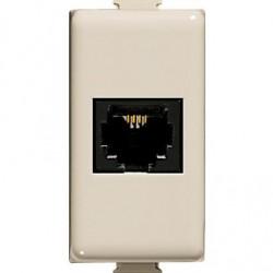 MATIX MAGIC - CONNETTORE RJ11A MORSETTO ( BTICINO cod. A5982 )