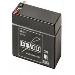 BATTERIA RIC.PIOMBO 12V  1,3 AH ( ELCART DISTRIBUTION cod. 300455500 )