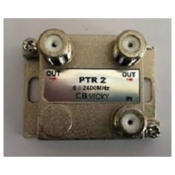 PTR2 PART 2 VIE CONNETTORI F LARGA BANDA ( CBD ELECTRONIC cod. B180102 )