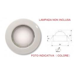 DICR.FISSO D50 230V/35-50W CROMO S/LAMP ( LAMPO LIGHTING cod. DIKF230/CR/SL )