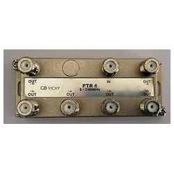 PTR6 PART 6 VIE CONNETTORI F LARGA BANDA ( CBD ELECTRONIC cod. B180106 )