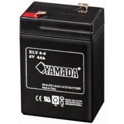 BATTERIA RIC.PIOMBO  6V  4Ah      ( ELCART DISTRIBUTION cod. 300603000 )