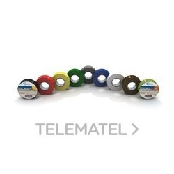ISOEL 25RD 25MMX25M S.0.15MM ROSSO ( ETELEC cod. NA4325 )