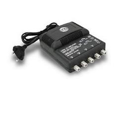 AMPLIFICATORE TV CON FILTRO LTE 4/U  ( G.B.S ELETTRONICA cod. 44166/LTE )