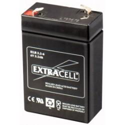 BATTERIA RIC.PIOMBO 6V 3,2 AHL ( ELCART DISTRIBUTION cod. 300450600 )