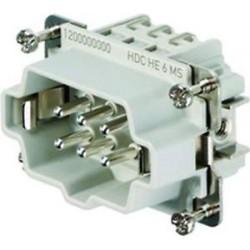 CONNETTORE HDC HE 6 MS ( WEIDMULLER cod. 1200000000 )
