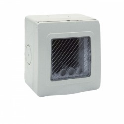 CONTENITORE RAL7035 IP55     S ( AVE cod. 44ST02 )