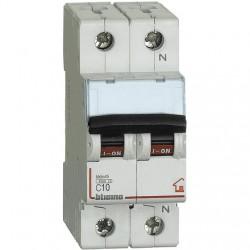 BTDIN-RS-MAGNETOT C10 1P+N 2M4500A ( BTICINO cod. FC810NC10 )