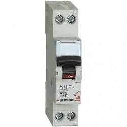BTDIN-RS- MAGNETOT C16 1P+N 1M 4500A ( BTICINO cod. FC881C16 )