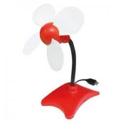 VENTILATORE USB FLOWER VINCO ( VINCO cod. 70606 )