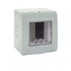 CONTENITORE RAL7035 IP55     S ( AVE cod. 44ST01 )