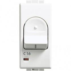 LUNA - MAGNETOTERMICO 1P+N 16A 3KA ( BTICINO cod. C4301/16 )
