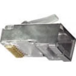 SPINA TEL.CAT6 SCHERM.8P8C RIGIDO FTP ME. ( ELCART DISTRIBUTION cod. 402176000 )