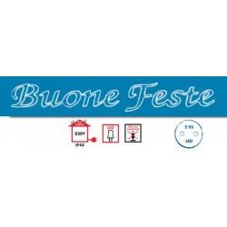 BUONE FESTE TUBOLED175X40CM ( WIMEX cod. 4506230 )