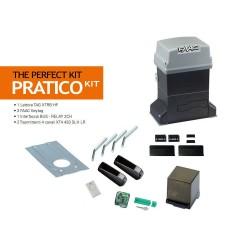 KIT AUTOMAZIONE CANCELLO SCORREVOLE MAX 600KG PERFECT ( FAAC cod. 105912 )