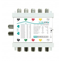 SCD2-5216W MSW SCD2 5IWB 2OUT ( FRACARRO cod. 287436 )