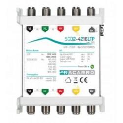 SCD2-4216LTP MSW SCD2 4IN 2OUT LEG T ( FRACARRO cod. 271175 )